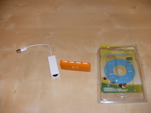 An USB to LAN adaptor