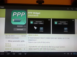 ppp widget on mk802